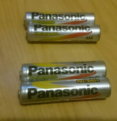 4 Akumulatorki AAA paluszki panasonic