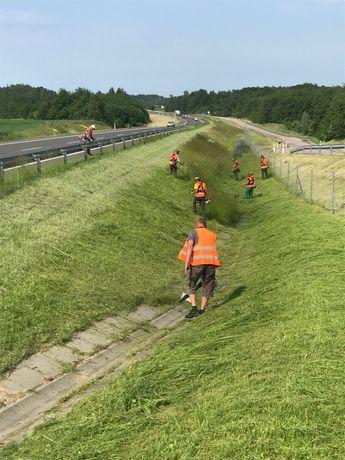 Profesjonalne koszenie traw i nieużytków zielonych