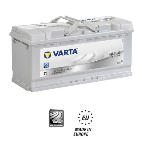 Аккумуляторы VARTA SILVER Dynamic 6cт-110 А/ч R+