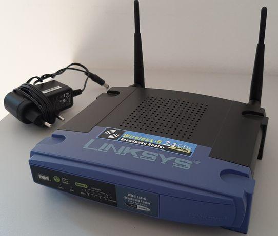 Router Linksys WRT54GL Wi-Fi