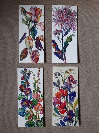 Открытки серия цветы от paper destiny
