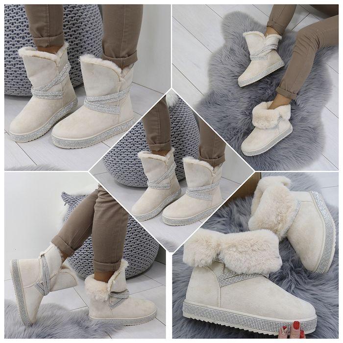 Угги зима 36 размер,женские угги,ботинки зима,сапоги зима,угги бежевые Киев - изображение 1