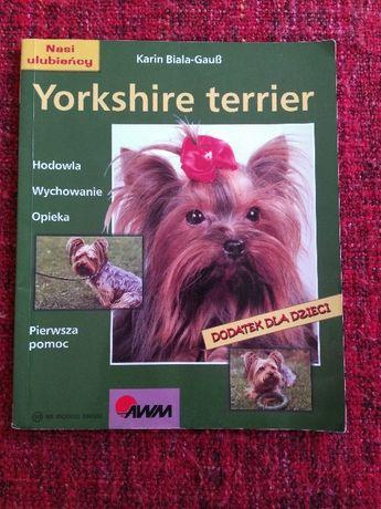 Ksiązka o psach-Rachel Keyes -Yorkshire Terier-okazja