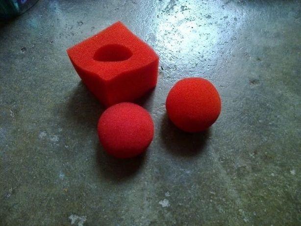 Magia - cubo a bola truque