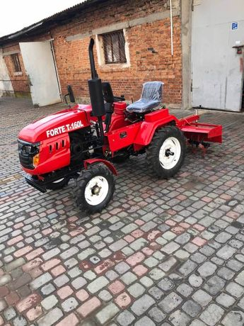 Мини трактор Форте Т160 + фреза + плуг в комплекте