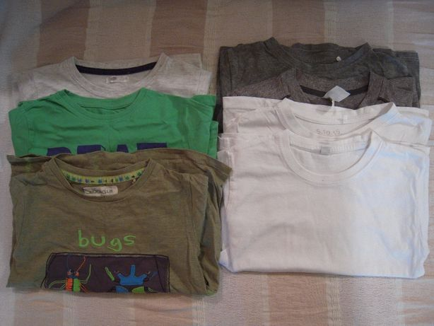 koszulki chłopięce 110