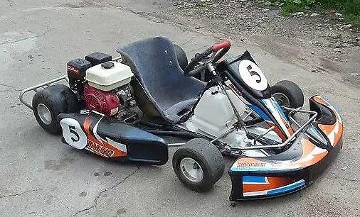Продам картинг Honda