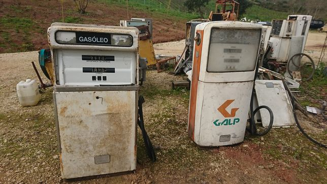 Bomba de gasolina antiga