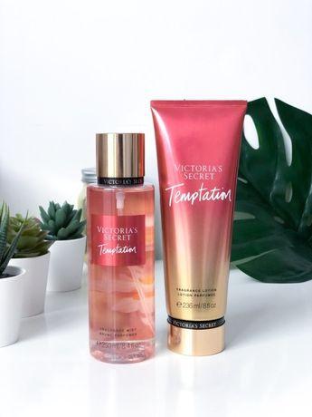 Zestaw prezentowy Victoria's Secret mgiełka + balsam Temptation