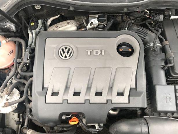Двигатель двигун мотор 2.0 TDI CFFB 103kW B7 Golf Skoda Superb audi