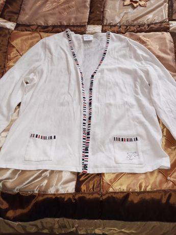 Sweterek damski ,cienki,biały