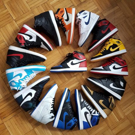 Jordan 1 High | Todas as colorways