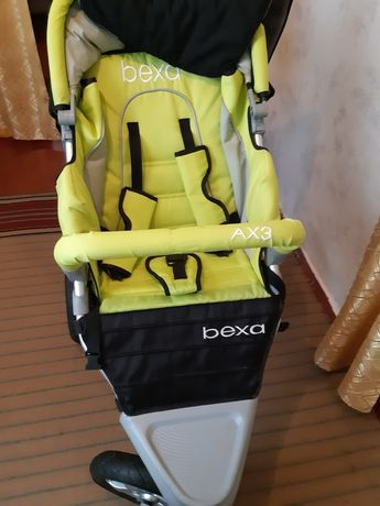 Коляска bexa AX3 , 3в 1, утепленная, б/у,Польша.