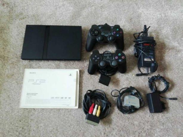 PS2 + 2 Comandos Originais + Câmera