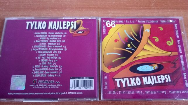 Tylko Najlepsi - CD , Hey,Budka suflera,Mafia,Kasia Kowalska UNIKAT
