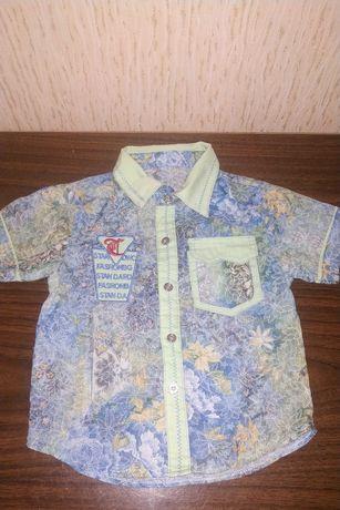 Рубашечки на мальчика