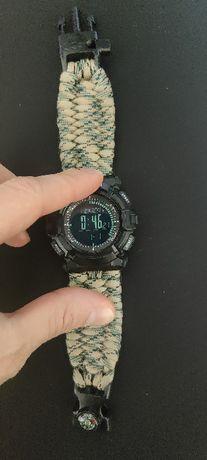 Relógio desportivo multi-funcional, bússola, barómetro, altímetro, etc