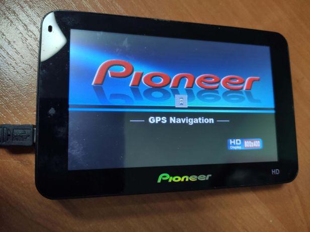 GPS навигатор Pioneer, под ремонт или востановление