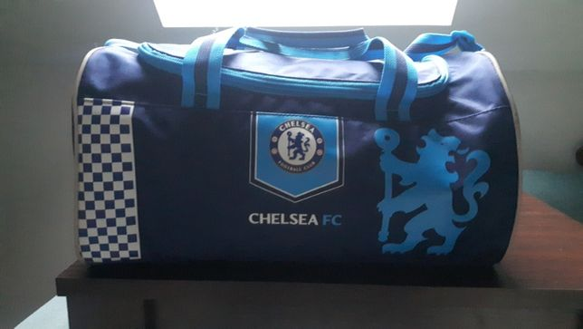Torba treningowa Chelsea Londyn oryginalna,rozmiar 40x20x20