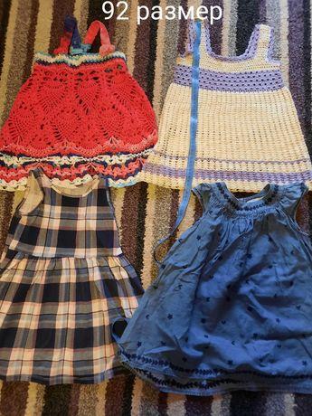 Сарафани (сукні) дитячі літні 92 розмір