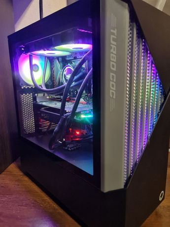 Huananzhi X79, Xeon E5-2670 V2 (10/20), 32Gb DDR3, 256 NVMe, RX580 4Gb