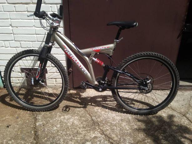 """Велосипед алюмінієвий """"26"""" GERMATEC"""