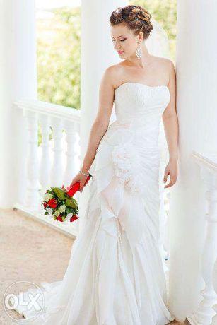 Свадебное платье от украинского дизайнера
