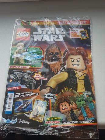 Gazetka lego star wars +naklejki BEZ FIGURKI