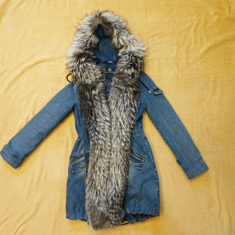 Женская куртка Парка Actors с Натуральным Мехом. До -30