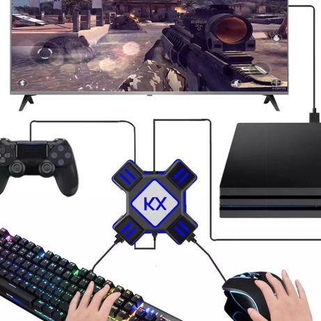 PS4 / XBOX adaptador para rato e teclado