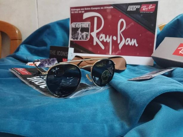 Óculos Sol Rayban 3647 Dupla Ponte várias cores