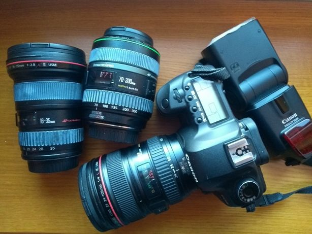 Canon объективы
