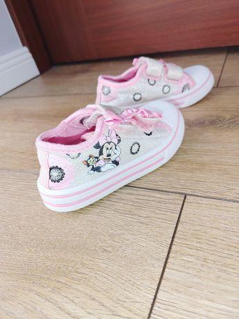 Trampki buty na rzep tenisówki Myszka Minnie 23
