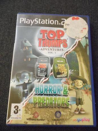 Gra playstation 2 , ps 2 Top Trumps: Horror & Predators