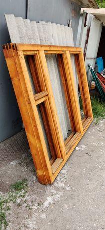 Окна деревянные 150х210
