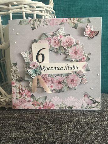 Kartki okolicznościowe, recznie robione, prezent, ślub, życzenia