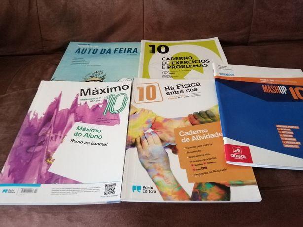 Cadernos de atividades 10°ano