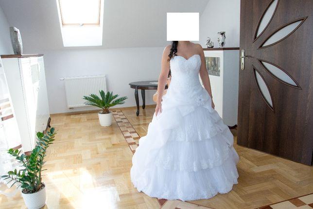 Okazja!!! Suknia ślubna rozm. S