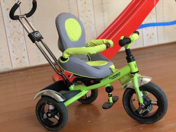 Триколісний велосипед для дитини Turbo Trike