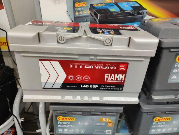 Akumulator Fiamm TITANIUM PRO 12V 85Ah 760A P+ Kraków