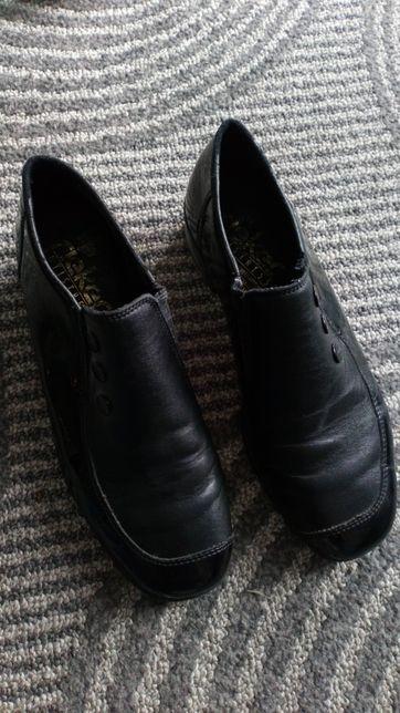 Buty skórzane damskie r 37