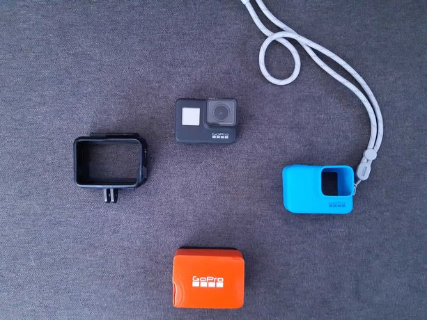 GoPro Hero 7 Black + akcesoria