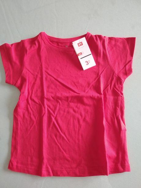 Novo - T-shirts manga curta vermelha