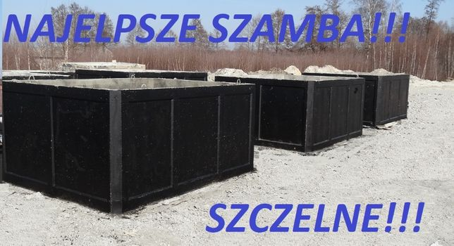 SZAMBO 2m3 /SZAMBA przydomowe/betonowe Zbiorniki EKO szczelne 100%