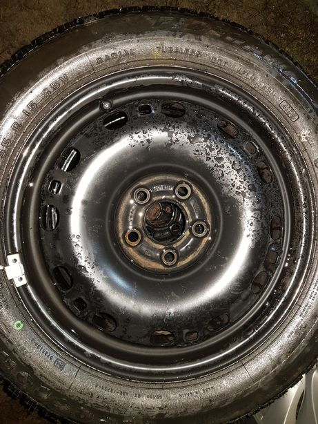 Felgi stalowe R15 5x100 Seat Ibiza