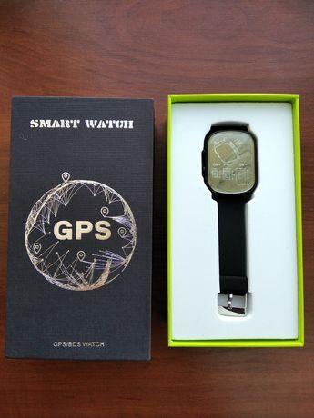 Детские Умные Смарт Часы Baby Smart Watch T58 Original GPS Черные