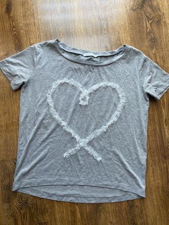 Szara koszulka LEMONADA, rozmiar S/M