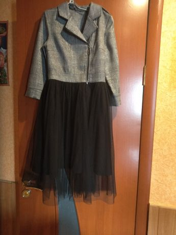 Платье подростковое стильное