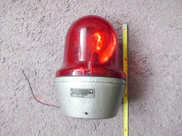 KOGUT lampa błyskowa LBS 5 12 V,H3 - 1984 PRL - MO - STRAŻ - POGOTOWIE
