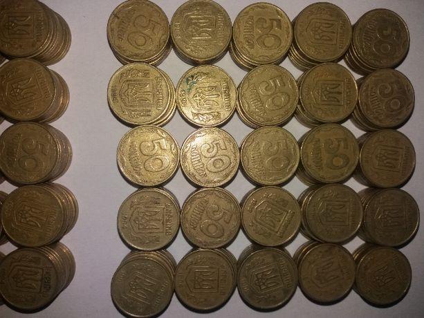 Монеты Украины номиналом 90-х на 1250+ грн.